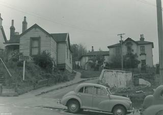 Moray Place, opposite Harrop Street, 16 April 1959