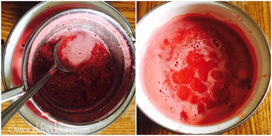 Watermelon Juice Recipe for Babies, Toddlers and Kids - step 3