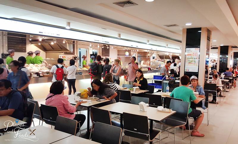 mbk food island new look
