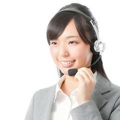コールセンター女性の写真