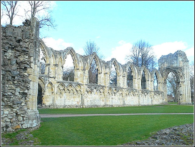 St Mary's Abbey in York ..