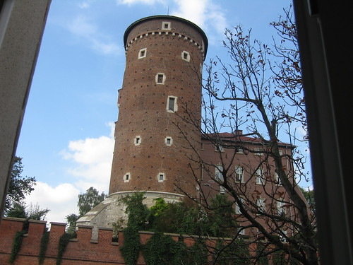 view onto Wawel Castel, Krakow