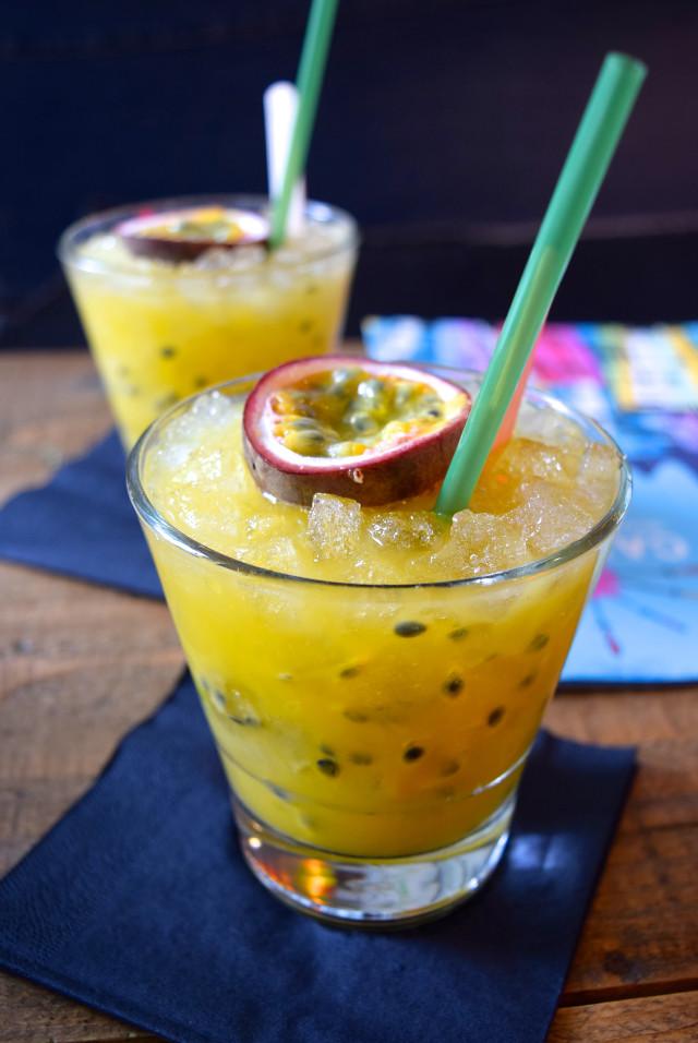 Passion Fruit Caipirinha's at Cabana, Covent Garden | www.rachelphipps.com @rachelphipps