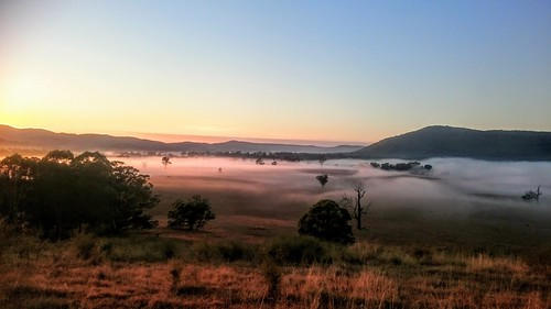 Vacy under a blanket of mist