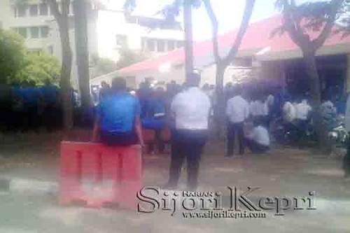 Ditpam pun Ikut Demo, Tolak Kedatangan Pengurus BP Batam dari Pusat