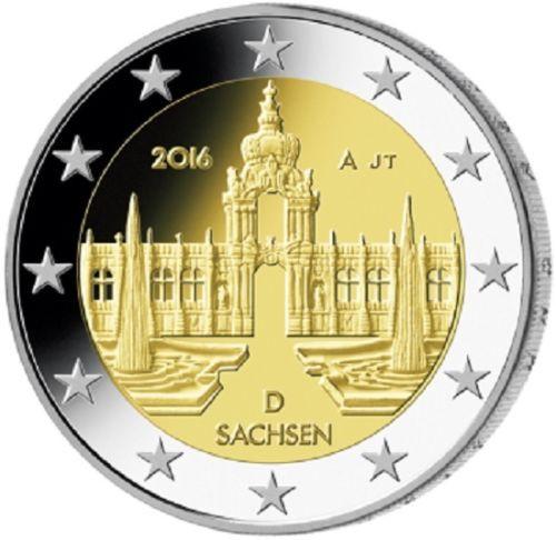 a82256db9 2 Euro Nemecko 2016 D, Sasko [mGERMANY2e-2016-SASKO-D] : EuroTopShop ...
