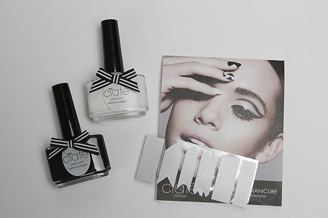 Chiaté Limitid Edition Monochrome Manicure