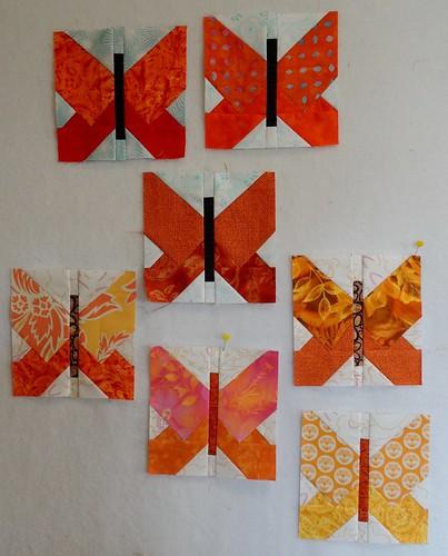 7 Butterfly blocks