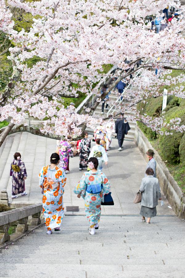 Kimono at Kiyomizu-Dera