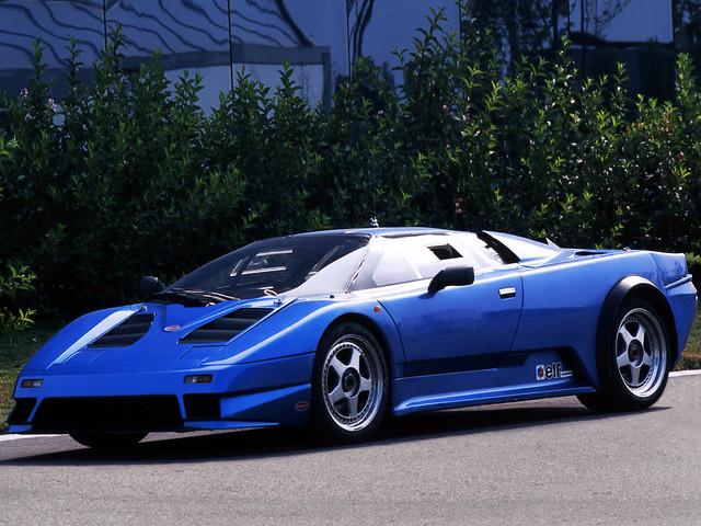 Bugatti EB110 Prototype. 1990 – 1991 годы