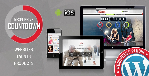 CountDown Pro WP Plugin v1.4.2 – WebSites/Products/Offers