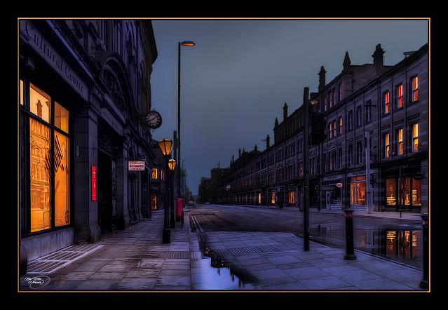 Deserted Street, Deansgate