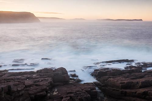 ocean longexposure sunset sea sky seascape canada beach rock newfoundland landscape evening spring nikon waves stjohns clear shore signalhill nfld atlanticcanada capespear d600 avalonpeninsula newfoundlandandlabrador nikond600