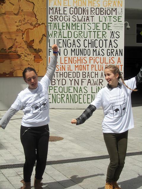 Flash Mob Euskadi 2016