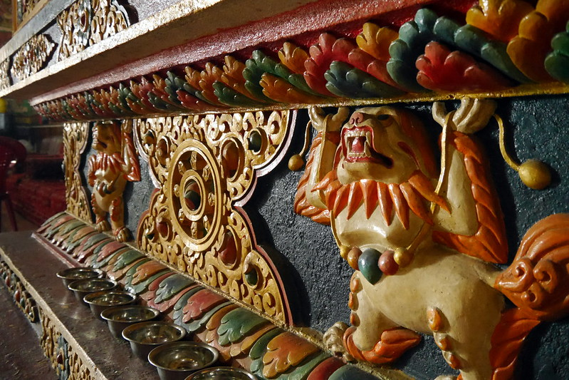 Colourful Wood Carvings