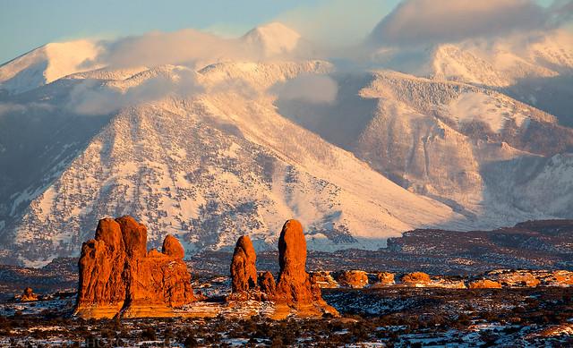 Sandstone & Snow
