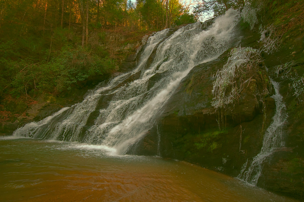 Brasstown Falls (upper cascade)