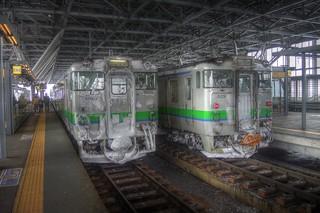 Asahikawa Station on DEC 26, 2015 (1)