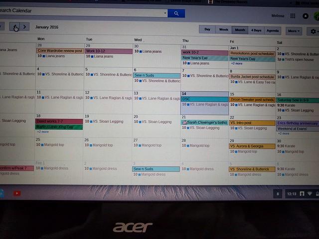 Scheduling 1.2016