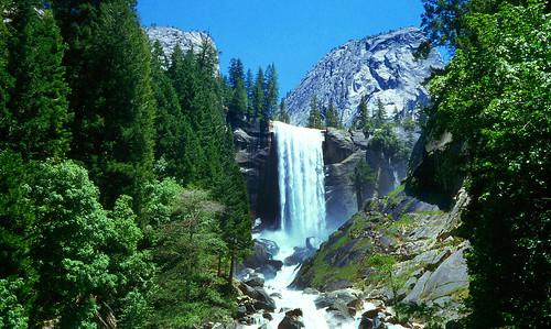 park falls national yosemite vernal