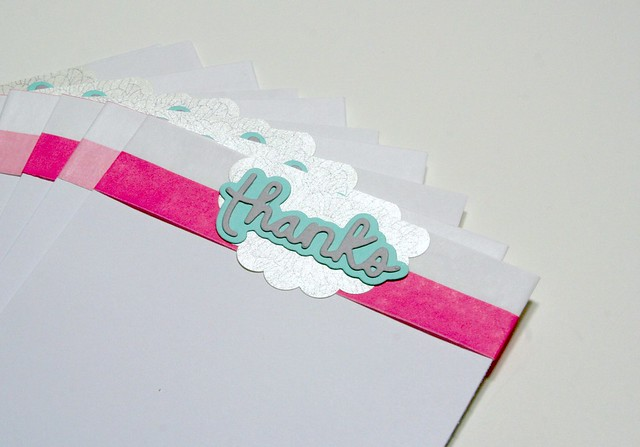Thanks Bitty Bag Stripe Notecards | shirley shirley bo birley Blog