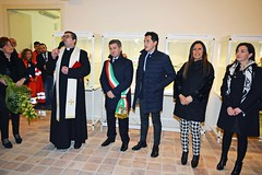 La benedizione di don Angelo Bosco