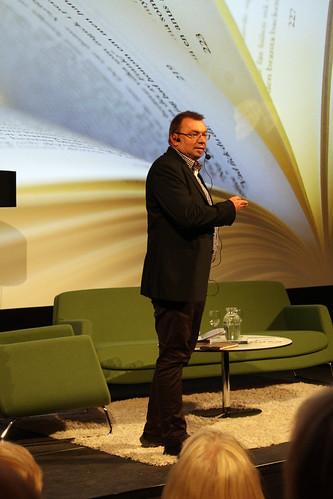 Mats Granberg, Litteratursamtal på Cnema 2011