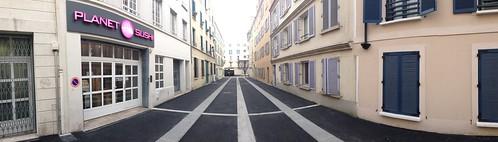 Puteaux, rue Saulnier fermée à la circulation