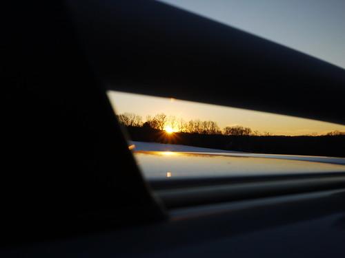 winter sunset newjersey morriscounty