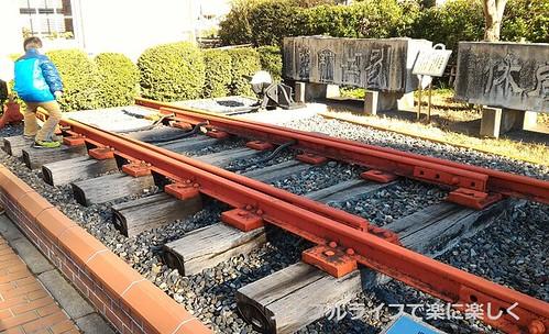 長浜鉄道スクエア、外きり替えポイント