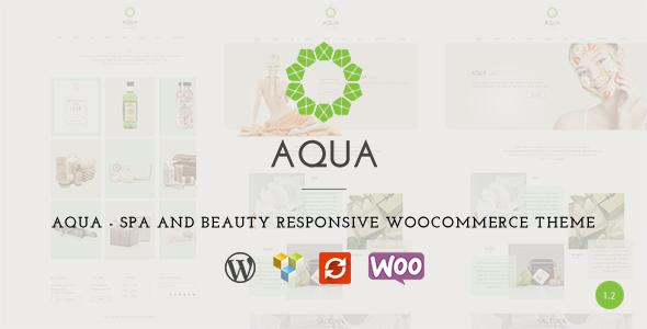 Themeforest Aqua v1.2.1 - Spa and Beauty Responsive WooCommerce