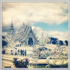 Magical #whitetemple with #matrix #spiderman and...