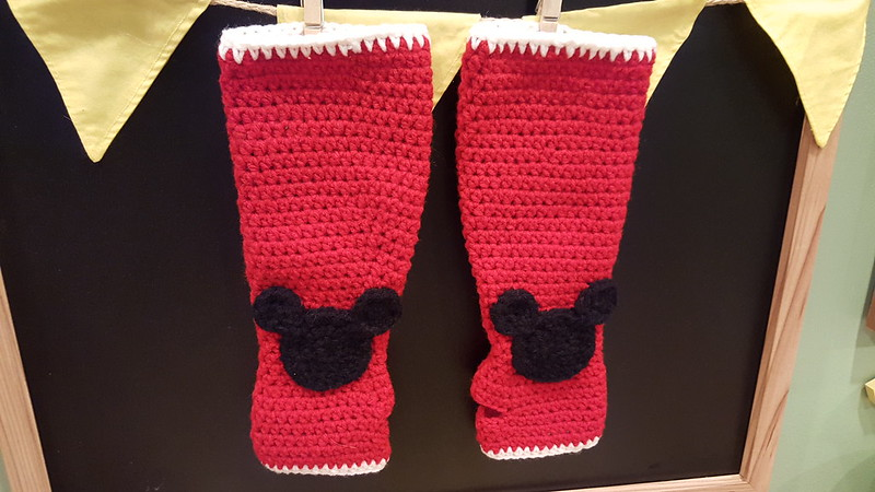 mickey mouse gloves custom order
