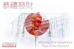 Happy Lunar New Year - Year of the Monkey