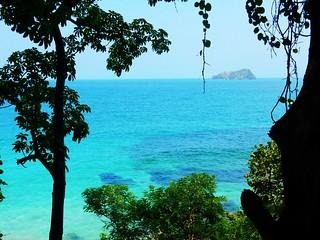 Caribbean coast in Capurgana