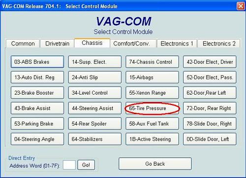 80015 - Układ kontroli ciśnienia w oponach - 38