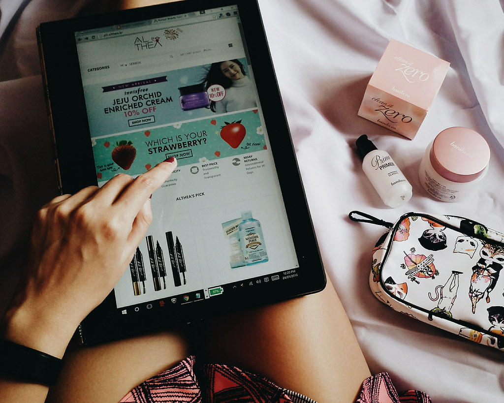 althea korea philippines shopping experience