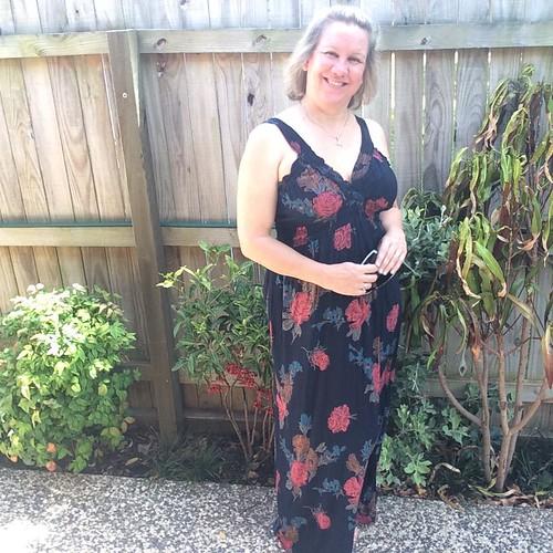 Flower dress from op shop