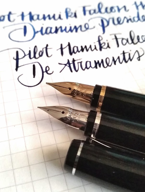 Pilot Namiki Falcon MS and SEF