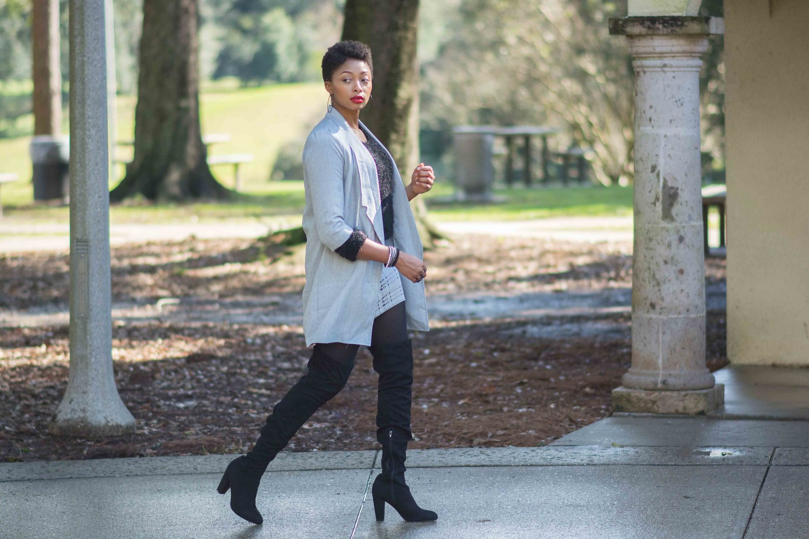 how to wear opaque tights