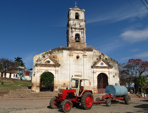 Topes de Collantes: l'église Santa Ana
