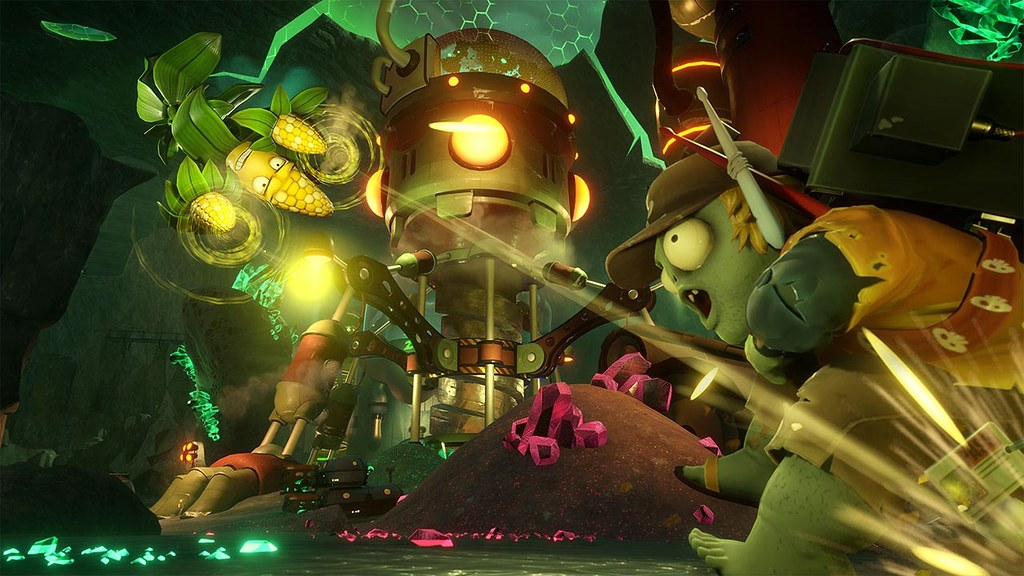 Plants vs. Zombies Garden Warfare 2 on PS4