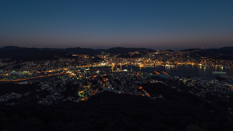 長崎 稻佐山 Nagasaki|日本 九州 Japan Kyushu