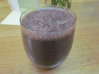 Blueberry Vanilla Green Smoothie