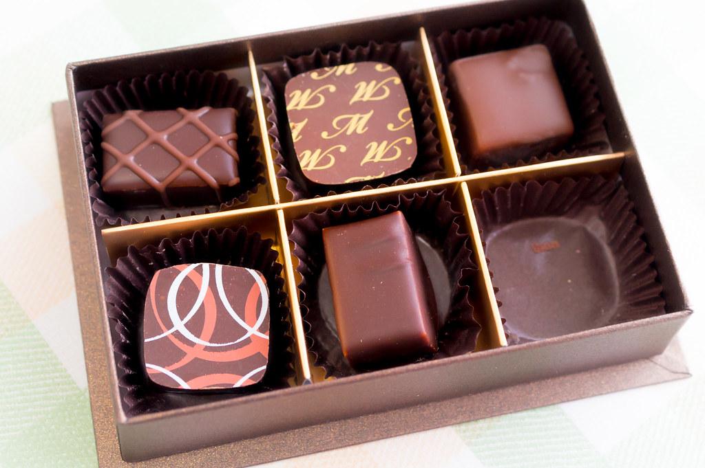 バレンタインにもらったチョコ
