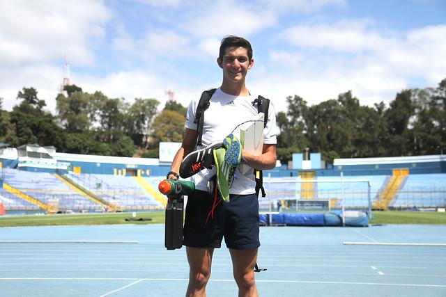Charles Fernández se prepara para la Copa del Mundo de El Cairo, Egipto
