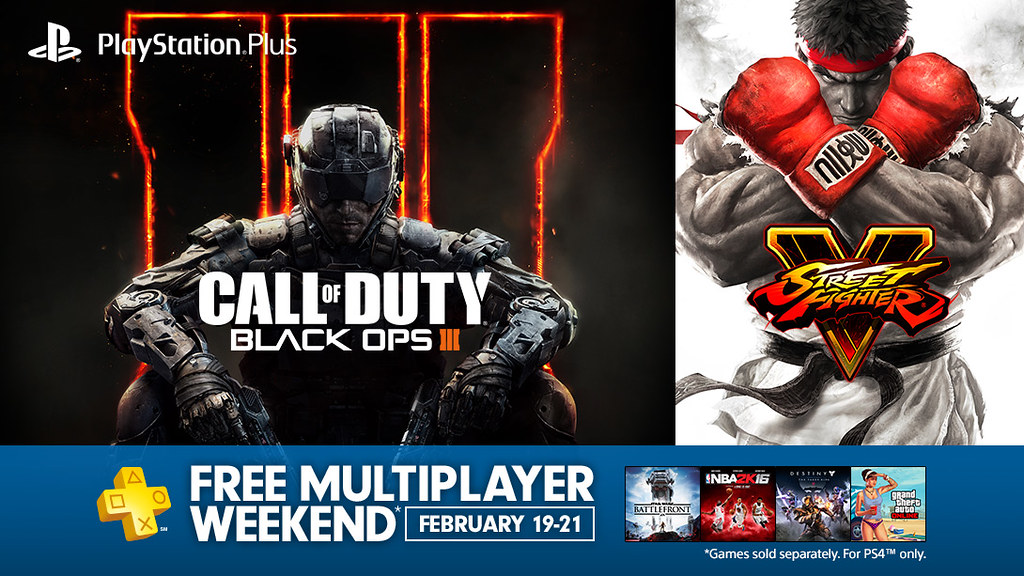 PlayStation Plus: Free Multiplayer Weekend