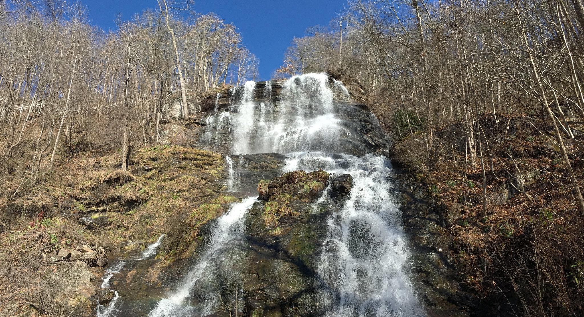 Amicalola falls crest
