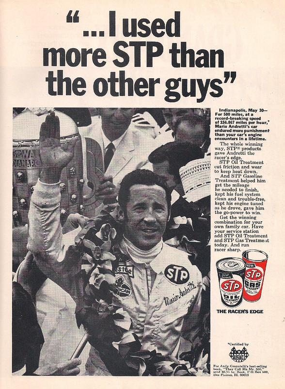Mario Andretti STP