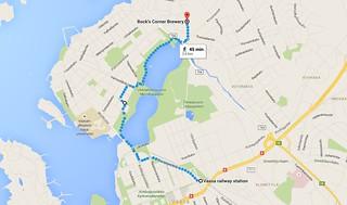 Directions to Bocks beer brewery vaasa